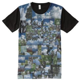 La camiseta de los hombres del día de verano