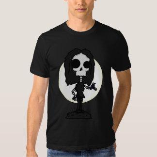 La camiseta de los hombres del esqueleto y del remeras