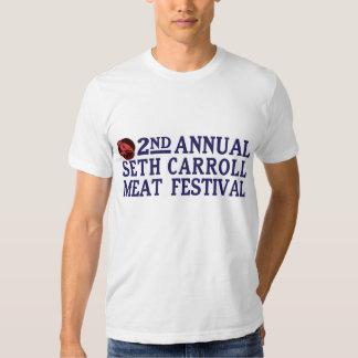 La camiseta de los hombres del festival de la polera