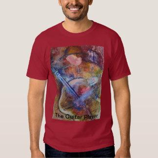 """La camiseta de los hombres """"del guitarrista"""" polera"""