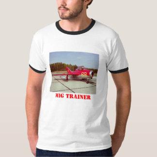 La camiseta de los hombres del instructor del Mig Camisas