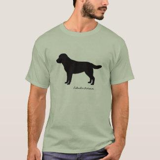 La camiseta de los hombres del labrador retriever