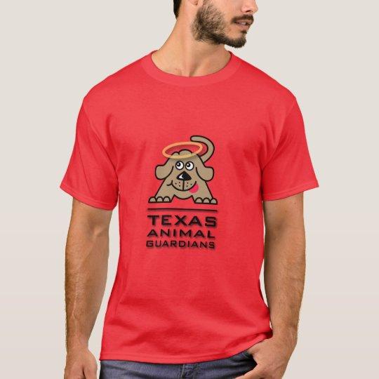 La camiseta de los hombres del logotipo
