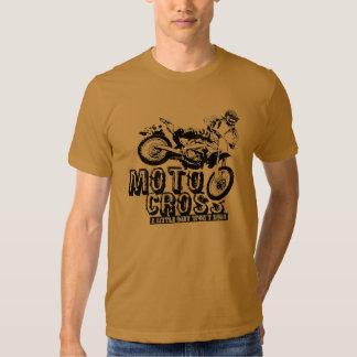 La camiseta de los hombres del motocrós playera