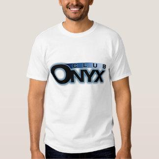 La camiseta de los hombres del ónix del club playeras