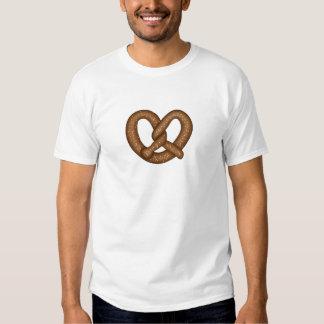 La camiseta de los hombres del pretzel playera