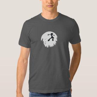 La camiseta de los hombres del salto de Bitey Playeras