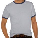 La camiseta de los hombres del sello de puerto