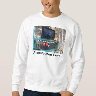 La camiseta de los hombres del subterráneo de Wall Sudaderas Encapuchadas