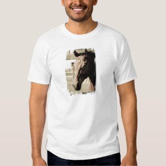 La camiseta de los hombres excelentes del vintage poleras