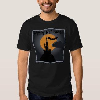 La camiseta de los hombres fantasmagóricos del remeras