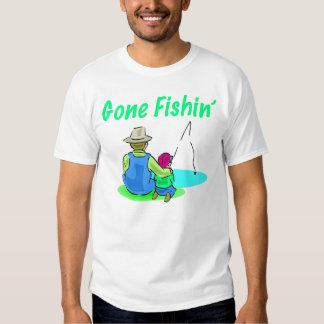 La camiseta de los hombres idos de Fishin Remeras