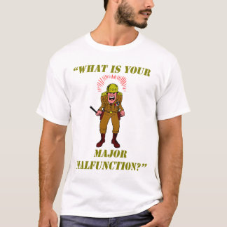 La camiseta de los hombres importantes del