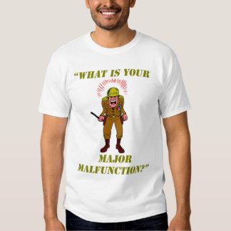 La camiseta de los hombres importantes del remera