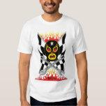 La camiseta de los hombres mexicanos del luchador playera