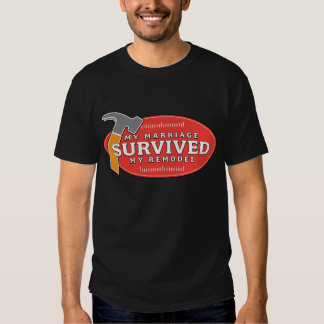 La camiseta de los hombres - mi boda sobrevivió mi remera
