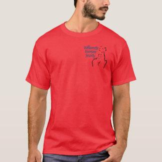 La camiseta de los hombres (pequeño emblema)