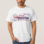 La camiseta de los hombres poleras