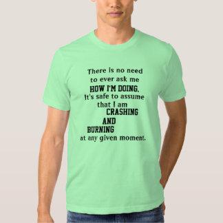 La camiseta de los hombres QUE SE ESTRELLAN Y Poleras