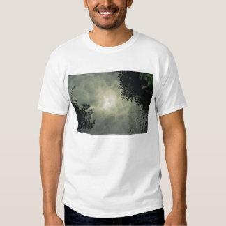 La camiseta de los hombres reflejados playera