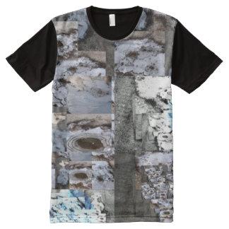 La camiseta de los hombres resbaladizos