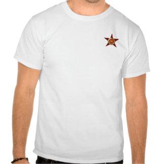 La camiseta de los hombres soviéticos emblema de l