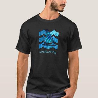 La camiseta de los hombres Windsurfing