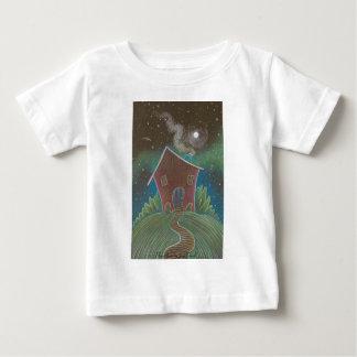 La camiseta de los niños de la casa del juego playera para bebé