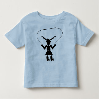 La camiseta de los niños de la comba playera de niño