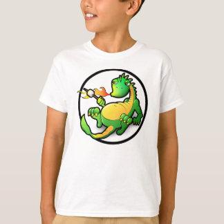 La camiseta de los niños de la impresión del playeras