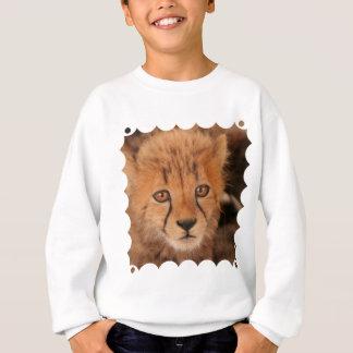 La camiseta de los niños del guepardo del bebé