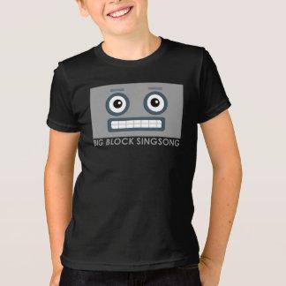 La camiseta de los niños del robot de BBSS