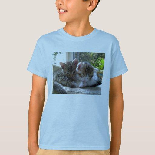 La camiseta de los niños soñolientos de los camisas