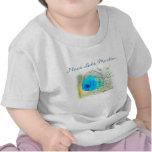 """La camiseta de los pescados del bebé """"amo el lago"""