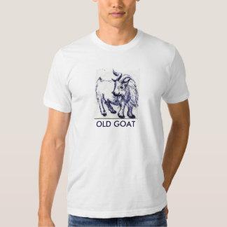 La camiseta de los VIEJOS hombres de la CABRA Polera