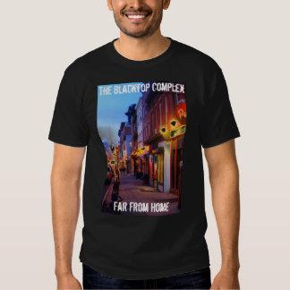 La camiseta de lujo compleja del Blacktop Poleras