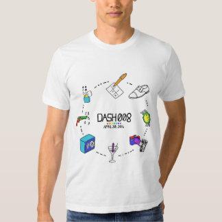 La camiseta de manga corta de los hombres de la poleras