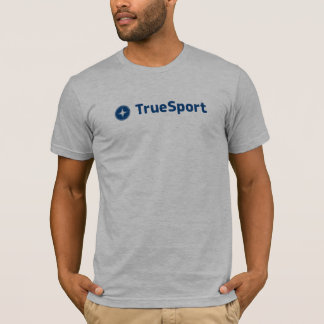 La camiseta de manga corta gris de los hombres con