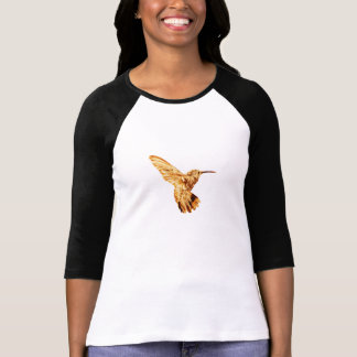 La camiseta de manga larga de las mujeres del coli