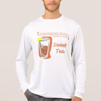 La camiseta de manga larga de los hombres dulces remeras