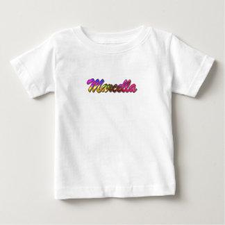 La camiseta de Marcela