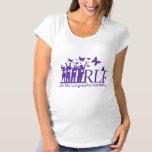 La camiseta de maternidad de las mujeres de RLF Playera