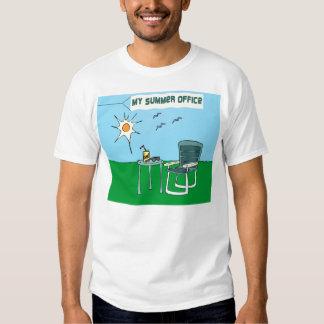 La camiseta de mis del verano hombres de la remera
