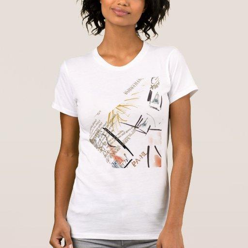 La camiseta de mis mujeres adaptables del hombre e