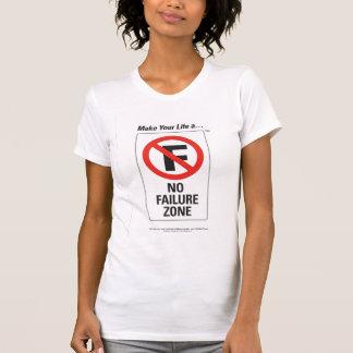 La camiseta de ningunas del FRACASO mujeres de la Poleras