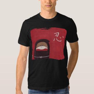 La camiseta de Ninja del mono del calcetín (para Playeras
