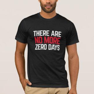 La camiseta de no más de hombres cero de los días