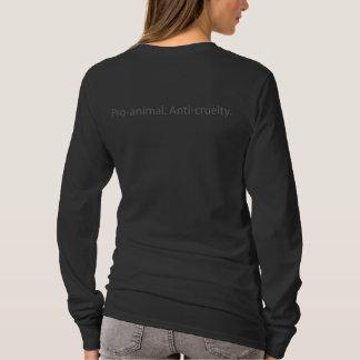 La camiseta de Pasado largo de la manga de las