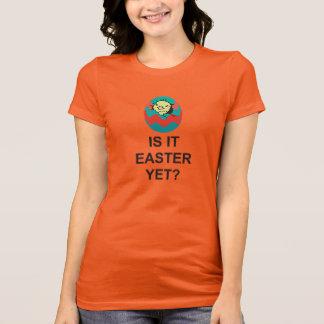 La camiseta de Pascua, es él Pascua TODAVÍA