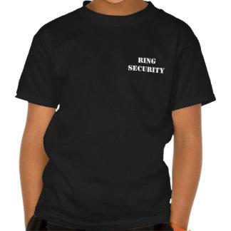 La camiseta de Ringbearer de la SEGURIDAD del